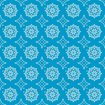 Mandala sem costura padrão fundo papel de parede. elegante motivo tradicional. luxo geométrico. batik clássico.