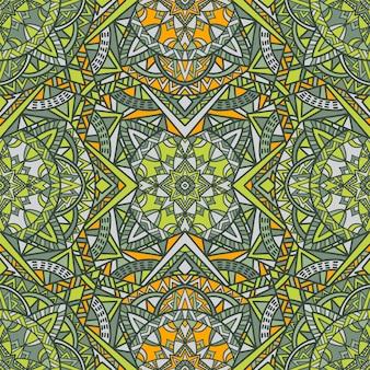 Mandala vector sem costura de fundo