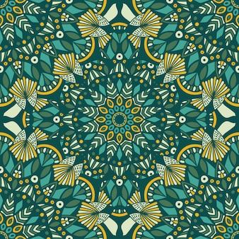 Mandala vintage design para impressão. ornamento tribal.