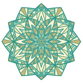 Mandala vintage design para impressão