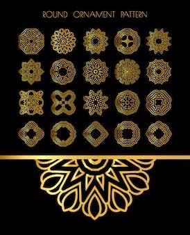 Mandalas douradas