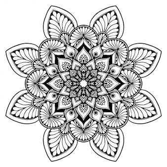 Mandalas livro para colorir, terapia oriental