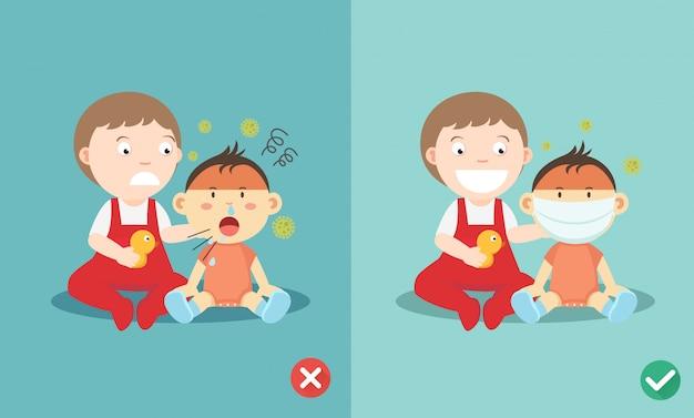 Maneiras certas e erradas de proteger as crianças