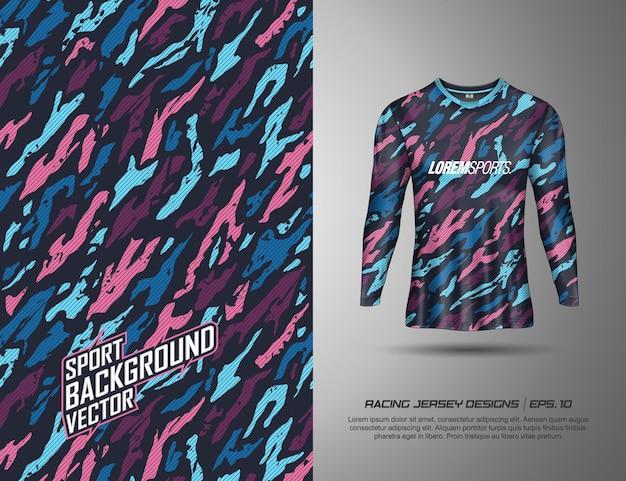 Manga comprida, t-shirt desportiva design para corridas, jersey, ciclismo, futebol, jogos
