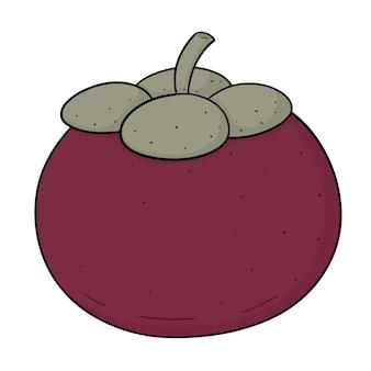 Mangostão dos desenhos animados