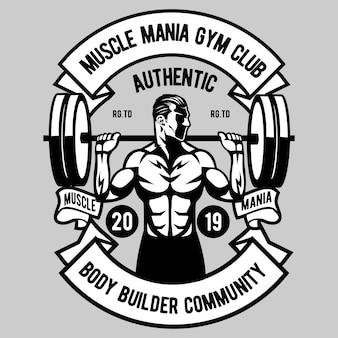 Mania muscular