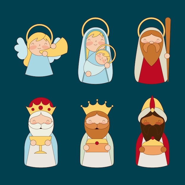 Manjedoura epifania natal