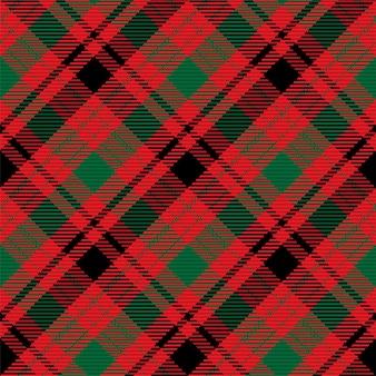 Manta de tartan desenho de fundo vector. padrão de moda. papel de parede de vetor para o natal, decorações de ano novo. ornamento tradicional escocês.