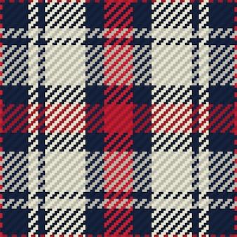 Manta de tartan desenho de fundo vector. padrão de moda.