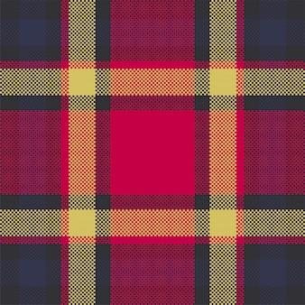 Manta moderna padrão sem emenda. tecido de textura quadrada. tartan escocês têxtil. ornamento de madras de cor de beleza.