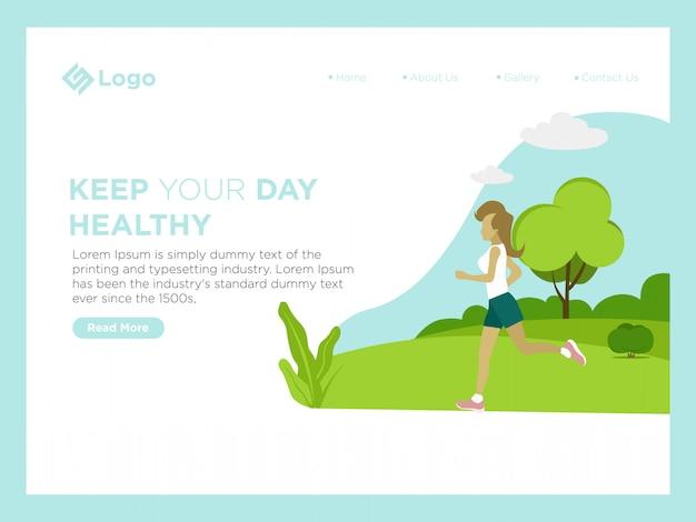 Mantenha seu dia saudável