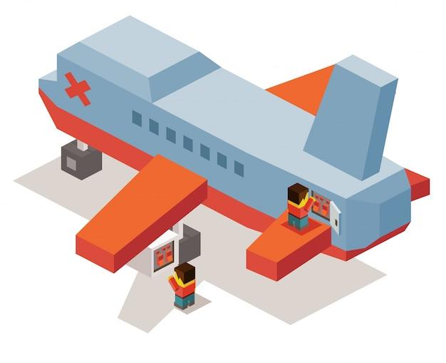 Manutenção do avião