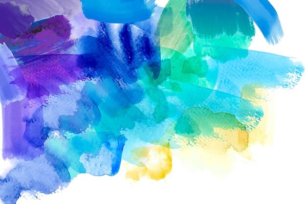 Mão abstrata pintada conceito de papel de parede