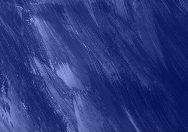 Mão abstrata pintada de textura azul