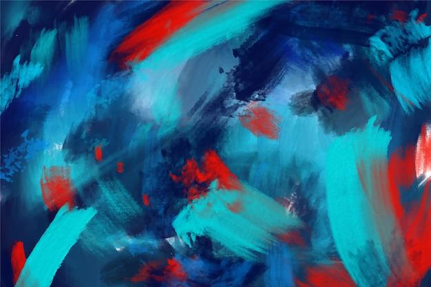 Mão abstrata pintada fundo