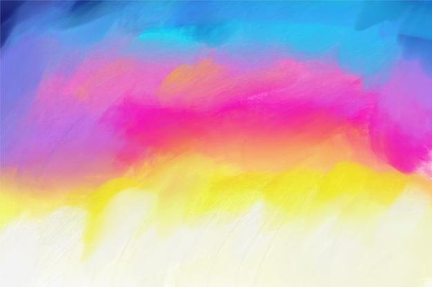 Mão artística pintada fundo