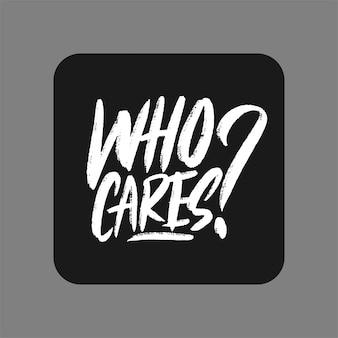 Mão de tipografia desenhada, quem se importa?
