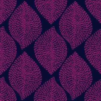 Mão desenhada boho fundo transparente abstrato formas pontilhadas naturais étnicas têxteis sem costura e fabri ...