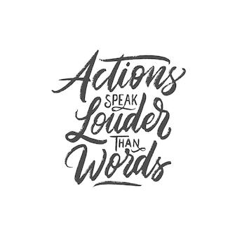Mão desenhada caligrafia e rotulação citações motivacionais de tipografia