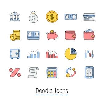 Mão desenhada doodle ícone.