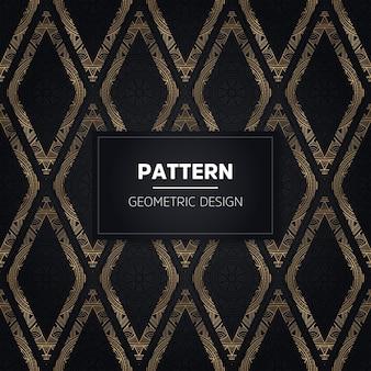 Mão desenhada seamless pattern. elementos decorativos vintage.