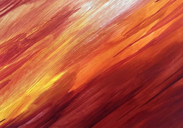 Mão elegante pintado textura colorida