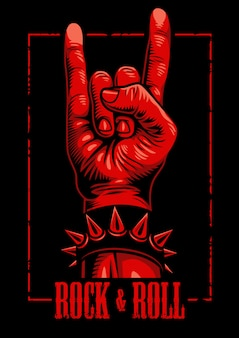 Mão no sinal de rock n roll