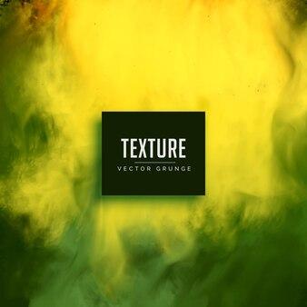 Mão pintado verde fundo grunge textura da aguarela