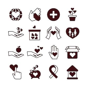 Mãos de caridade