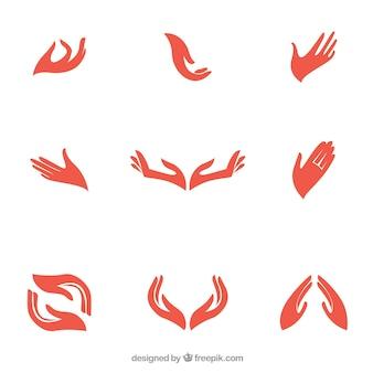 Mãos logotipo