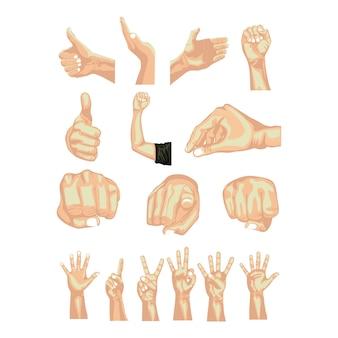 Mãos simbols