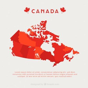 Mapa canadense