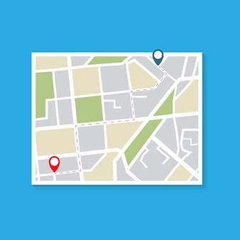 Mapa da forma de entrega