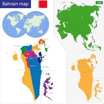 Mapa do barém