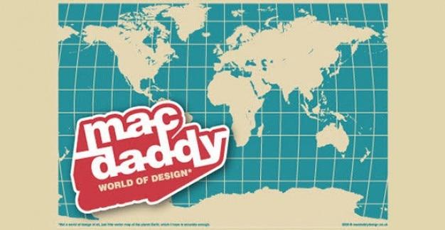 Mapa do mundo livre vector