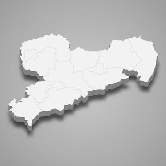 Mapa estado da alemanha