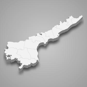 Mapa estado da índia