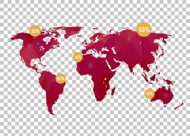 Mapa mundial.