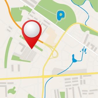 Mapas dobrados com marcadores de pontos coloridos.