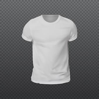Maquete da camisa t. modelo de camiseta em branco de 4 cores