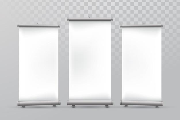 Maquete de banner de rollup