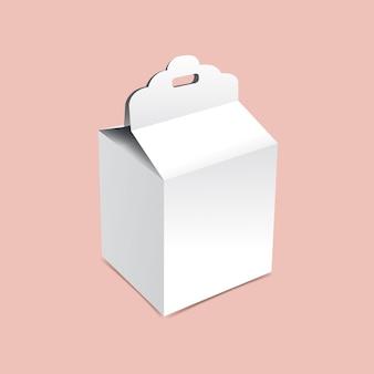 Maquete de caixa de presente