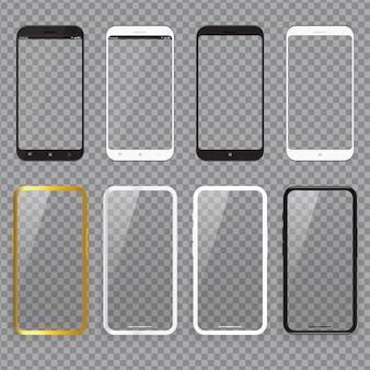 Maquete de caso realista de smartphone
