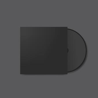 Maquete de design de capa de cd