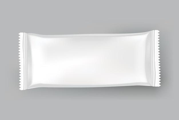 Maquete de embalagem ou modelo de bolsa