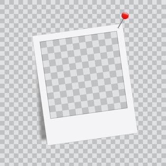 Maquete de modelo de quadro de foto criativa, moldura.