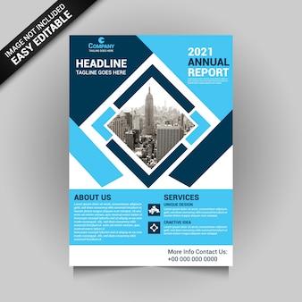 Maquete de panfleto de negócios