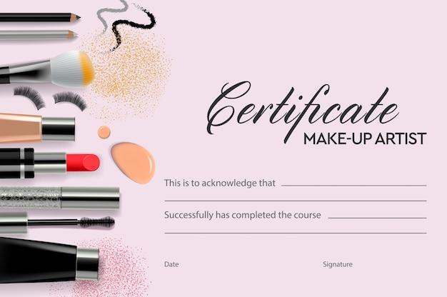 Maquiador certificado, educação, escola de maquiagem,.