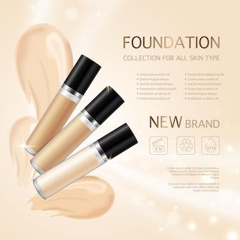 Maquiagem fundação