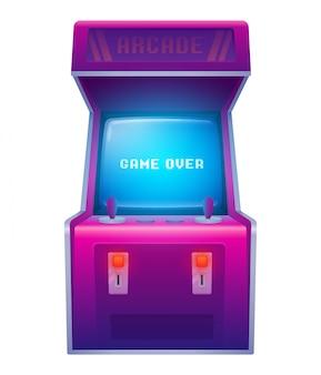 Máquina de jogo de arcade retrô